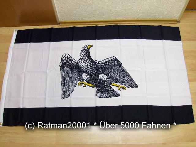 Preußen Dienstflagge 1921 bis 1933 - 90 x 150 cm