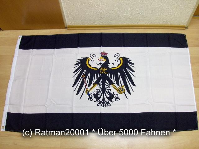 Preußen Königreich NEU - 90 x 150 cm