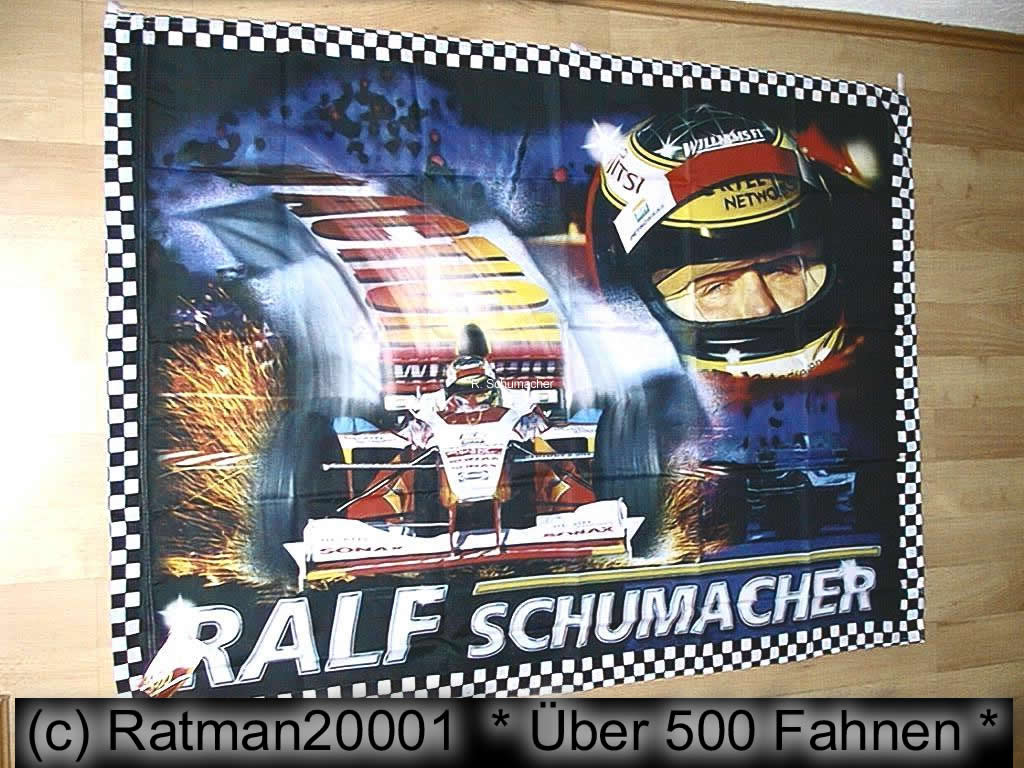 Ralf Schumacher  100 x 140