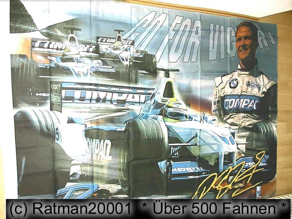 Ralf Schumacher - 140 x 200 cm
