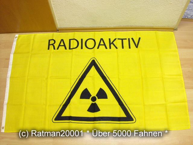 Radioaktiv - 90 x 150 cm