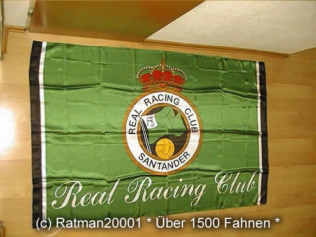 Real Racing Club SANTANDER - 95 x 145 cm