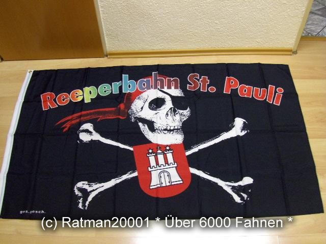 Hamburg Reeperbahn St.Pauli - 90 x 150 cm