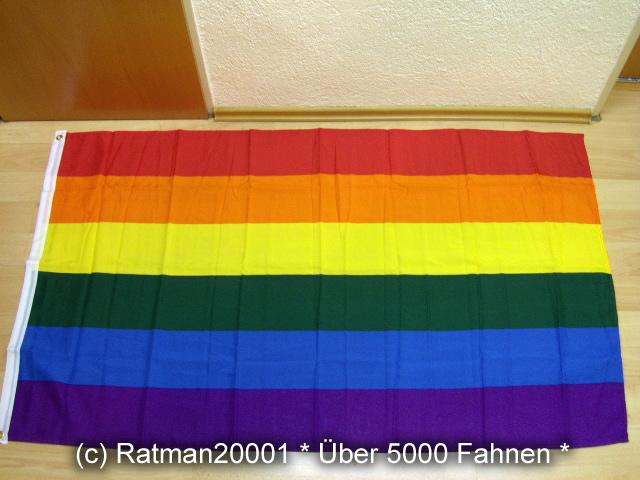 Regenbogen - 90 x 150 cm