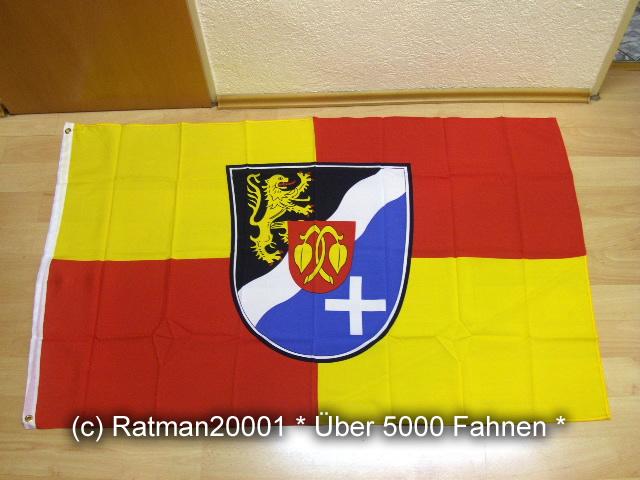 Rhein Pfalz Kreis - 90 x 150 cm