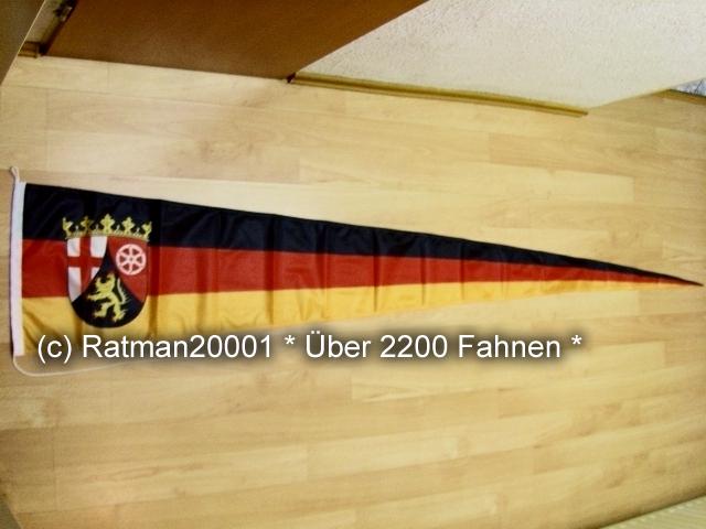 Rheinland Pfalz Langwimpel - 38 x 240 cm