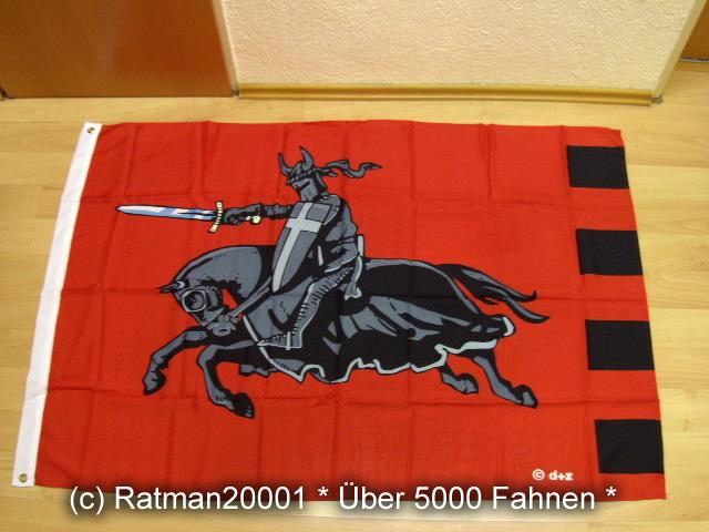 Ritter Rot - 95 x 135 cm