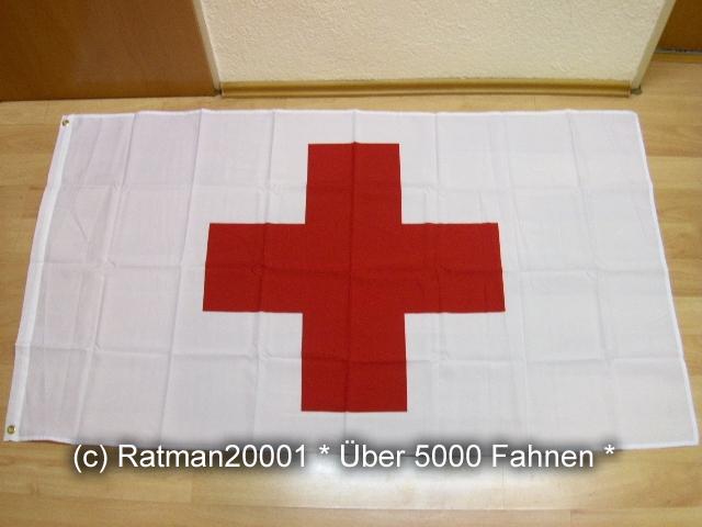 Rotes Kreuz - 90 x 150 cm
