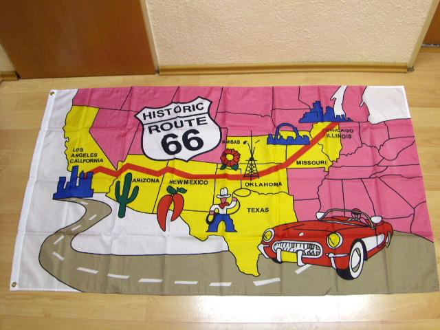 Route 66 - 90 x 150 cm