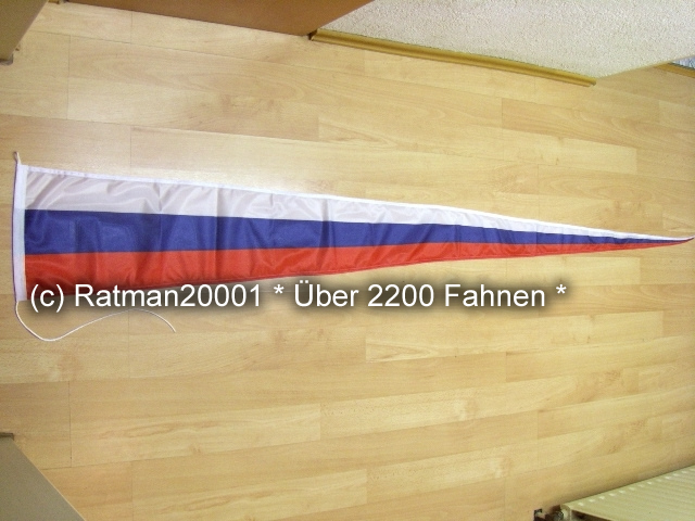 Russland Wimpel Langwimpel - 30 x 240 cm