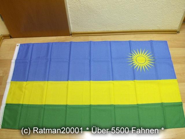 Ruanda - 90 x 150 cm