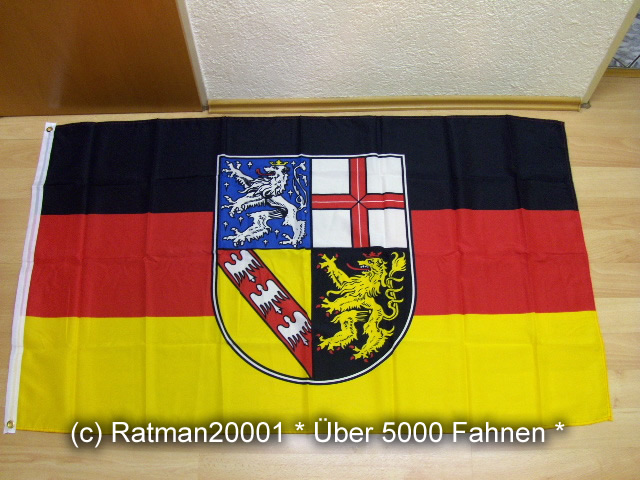 Saarland - 90 x 150 cm