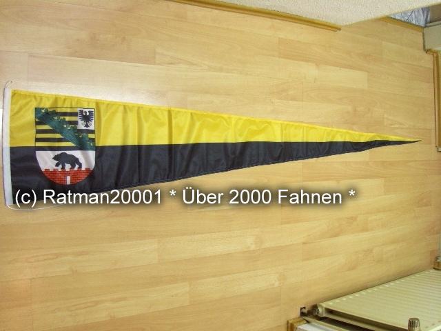 Sachsen Anhalt Langwimpel - 38 x 240 cm