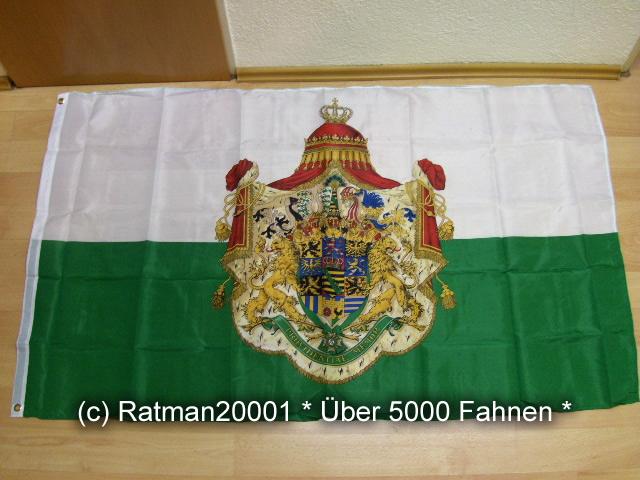 Sachsen Königreich - 90 x 150 cm