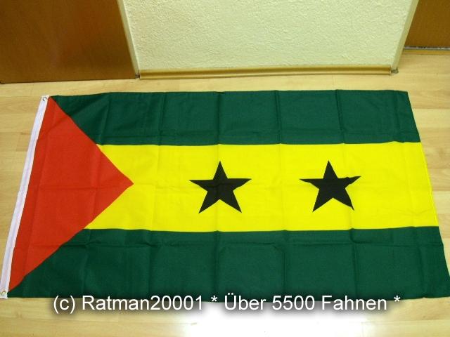 Sao Tome und Principe - 90 x 150 cm