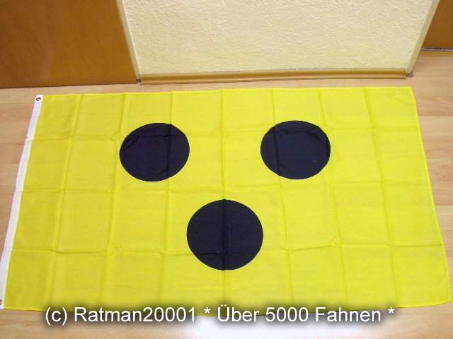 Schiri Schiedsrichter Blindenfahne Fußball Fan - 90 x 150 cm
