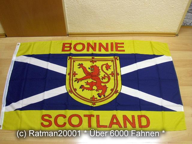Schottland Bonnie - 90 x 150 cm