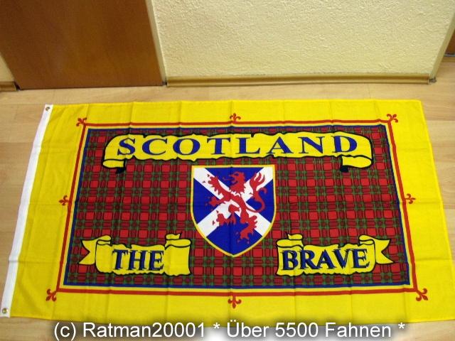 Schottland THE Brave - 90 x 150 cm