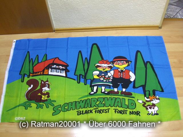 Schwarzwald - 90 x 150 cm