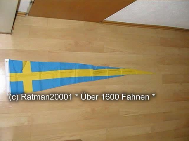 Schweden Wimpel - 28 x 142 cm