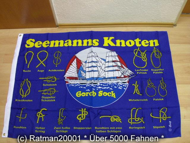 Seemansknoten - 95 x 135 cm