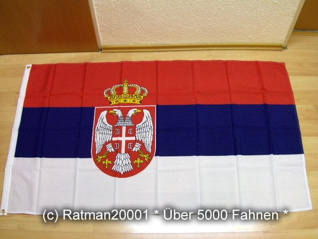 Serbien - 90 x 150 cm