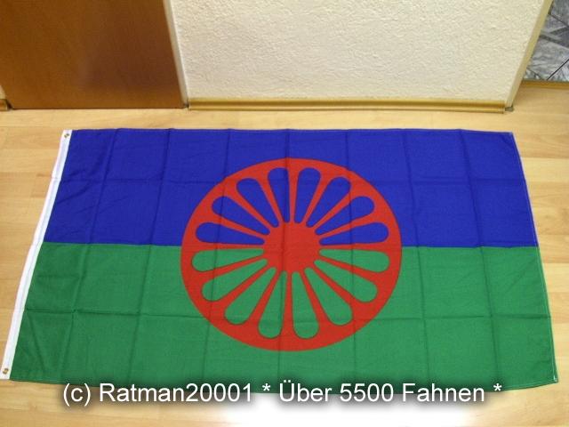 Sinti und Roma - 90 x 150 cm