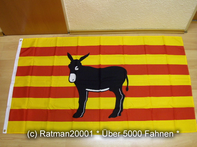 Katalonien Spanien Esel - 90 x 150 cm