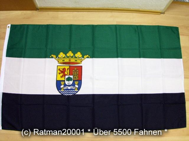 Spanien Extremadura Wappen - 90 x 150 cm