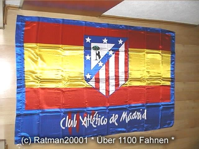 Spanien Madrid Atleti Club - 95 x 145 cm