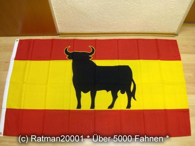 Spanien Stier - 90 x 150 cm