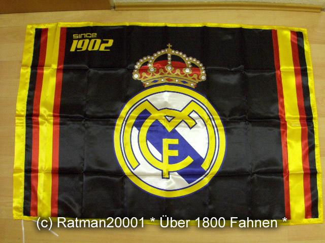 Spanien Real Madrid Schwarz - 95 x 145