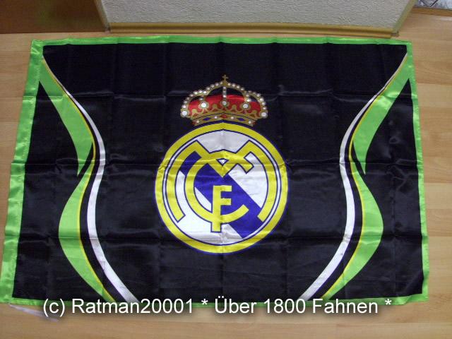 Spanien Real Madrid Schwarz Wappen