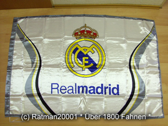 Spanien Real Madrid Wappen - 95 x 145