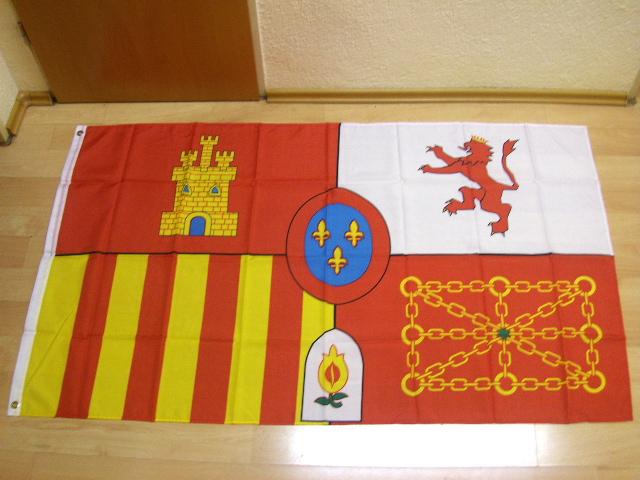 Spanien Royal - 90 x 150 cm
