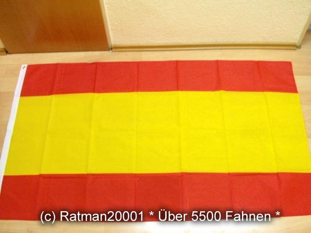Spanien ohne Wappen - 90 x 150 cm