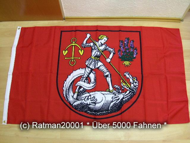Heide Holstein Stadtflagge - 90 x 150 cm