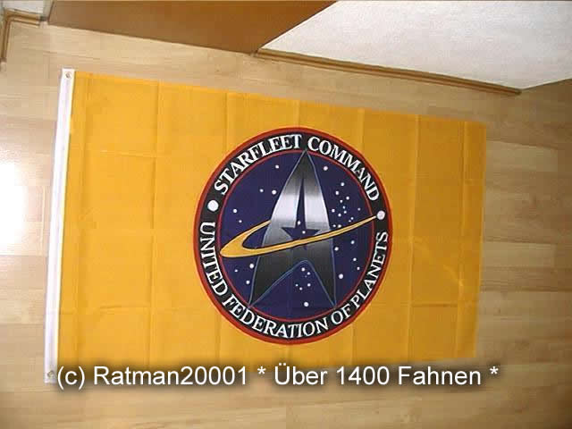 Star Trek Starfleet Command - 90 x 150 cm
