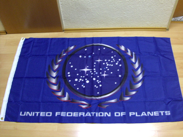 Star Trek United Federation of Planets - 90 x 150 cm