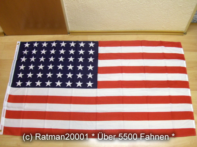 USA Stars and Stripes 48 Sterne - 90 x 150 cm