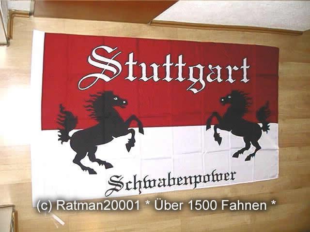 Stuttgart Schwabenpower - 90 x 149 cm