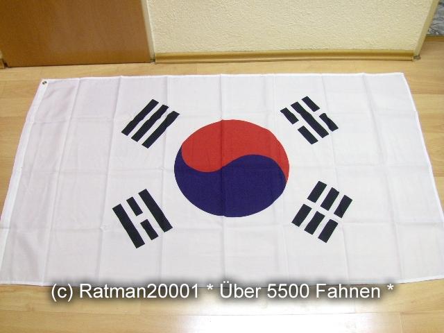 Südkorea - 90 x 150 cm