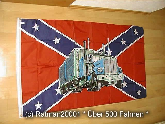 Südstaaten mit Truck1 - 90 x 150 cm