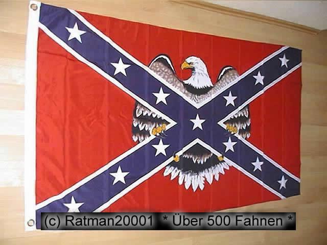 Südstaaten Rebel Adler1 - 90 x 150 cm