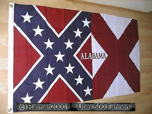 Südstaaten Alabama - 90 x 150 cm