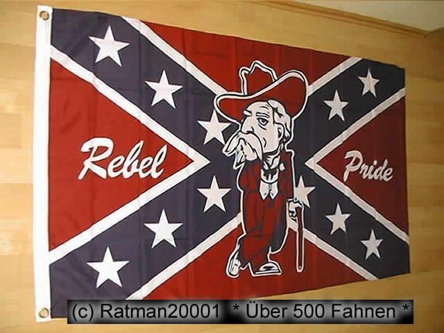 Südstaaten Pride - 90 x 150 cm