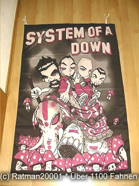 System OF A Down BT194 - 95 x 135 cm
