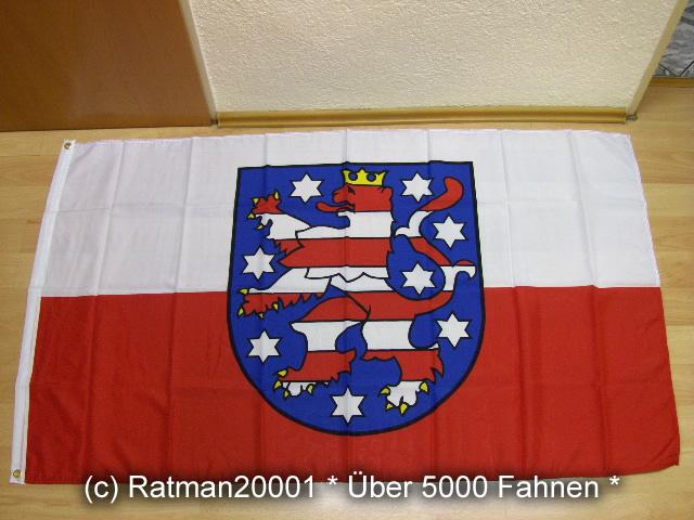 Thüringen - 90 x 150 cm