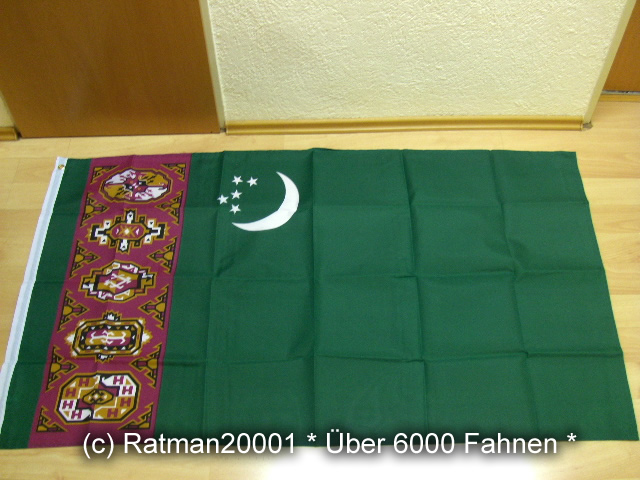 Turkmenistan - 90 x 150 cm