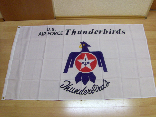 US AIR FORCE Thunderbirds - 90 x 150 cm